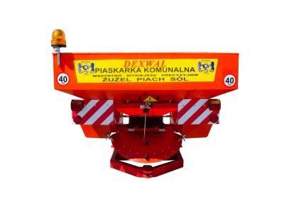 piaskarko-solarka 1200 850l-1200kg napd hydrauliczny